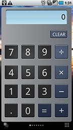 スクリーンショット: t-01c_default1