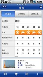 スクリーンショット: weather04
